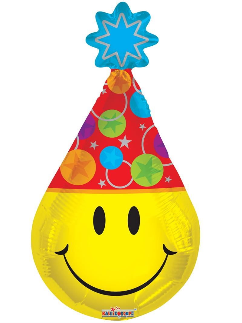 "14"" Smiley Party Hat"