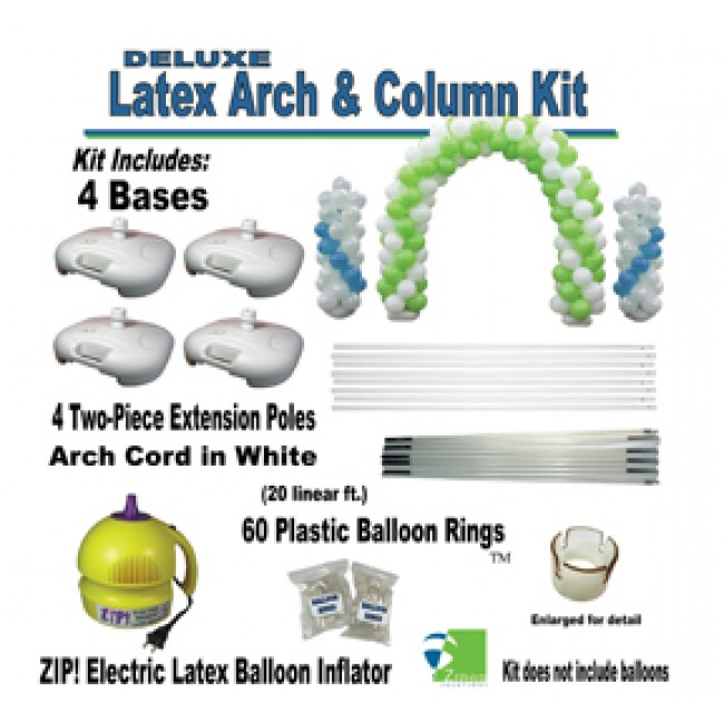 deluxe latex balloon arch column kit